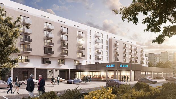 Aldi Nord builds apartments